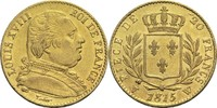 20 Francs 1815 W Frankreich Ludwig XVIII. 1814, 1815-1824 ss+  360,00 EUR