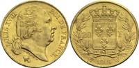 20 Francs 1818 W Frankreich Ludwig XVIII. 1814, 1815-1824 ss+  300,00 EUR