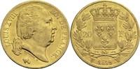 20 Francs 1819 W Frankreich Ludwig XVIII. 1814, 1815-1824 ss  330,00 EUR  +  14,90 EUR shipping