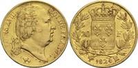 20 Francs 1824 MA Frankreich Ludwig XVIII. 1814, 1815-1824 ss  3300,00 EUR