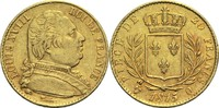20 Francs 1815 Q Frankreich Ludwig XVIII. 1814, 1815-1824 ss  350,00 EUR  +  14,90 EUR shipping