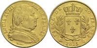20 Francs 1815 Q Frankreich Ludwig XVIII. 1814, 1815-1824 ss  370,00 EUR