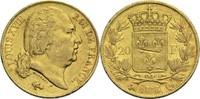 20 Francs 1816 Q Frankreich Ludwig XVIII. 1814, 1815-1824 ss  400,00 EUR
