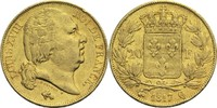 20 Francs 1817 Q Frankreich Ludwig XVIII. 1814, 1815-1824 ss  320,00 EUR