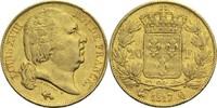 20 Francs 1817 Q Frankreich Ludwig XVIII. 1814, 1815-1824 ss  320,00 EUR  +  14,90 EUR shipping