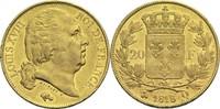 20 Francs 1818 Q Frankreich Ludwig XVIII. 1814, 1815-1824 ss+  400,00 EUR
