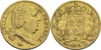 20 Francs 1819 T Frankreich Ludwig XVIII. 1814, 1815-1824 ss-  500,00 EUR