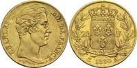 20 Francs 1830 A Frankreich Karl X. 1824-1830 ss  300,00 EUR