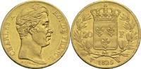 20 Francs 1825 W Frankreich Karl X. 1824-1830 ss  360,00 EUR