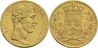 20 Francs 1826 W Frankreich Karl X. 1824-1830 ss  1200,00 EUR