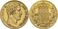 20 Francs 1828 W Frankreich Karl X. 1824-1830 ss  500,00 EUR
