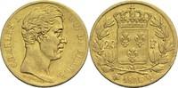 20 Francs 1826 Q Frankreich Karl X. 1824-1830 ss  1200,00 EUR