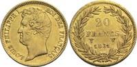 20 Francs 1831 W Frankreich Louis Philippe I. 1830-1848 ss  350,00 EUR