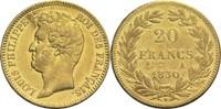 20 Francs 1830 A Frankreich Louis Philippe I. 1830-1848 ss  450,00 EUR