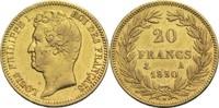 20 Francs 1830 A Frankreich Louis Philippe I. 1830-1848 ss  500,00 EUR