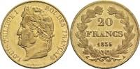 20 Francs 1835 A Frankreich Louis Philippe I. 1830-1848 ss  350,00 EUR