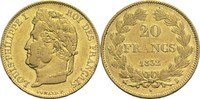 20 Francs 1832 B Frankreich Louis Philippe I. 1830-1848 ss  470,00 EUR  +  14,90 EUR shipping