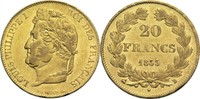 20 Francs 1833 B Frankreich Louis Philippe I. 1830-1848 ss+  270,00 EUR  +  14,90 EUR shipping