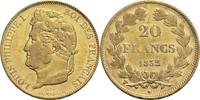 20 Francs 1832 W Frankreich Louis Philippe I. 1830-1848 ss  480,00 EUR  +  14,90 EUR shipping