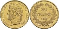 20 Francs 1833 W Frankreich Louis Philippe I. 1830-1848 ss+  500,00 EUR  +  14,90 EUR shipping