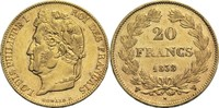 20 Francs 1838 W Frankreich Louis Philippe I. 1830-1848 ss-vz  900,00 EUR  +  19,80 EUR shipping