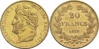 20 Francs 1839 W Frankreich Louis Philippe I. 1830-1848 ss  350,00 EUR  zzgl. 6,90 EUR Versand