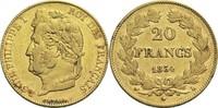 20 Francs 1834 L Frankreich Louis Philippe I. 1830-1848 ss  320,00 EUR  zzgl. 6,90 EUR Versand