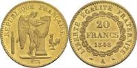 20 Francs 1848 A Frankreich 2. Republik 1848-1852 vz-  450,00 EUR  zzgl. 6,90 EUR Versand
