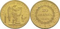 20 Francs 1849 A Frankreich 2. Republik 1848-1852 ss  290,00 EUR  zzgl. 6,90 EUR Versand