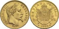 20 Francs 1868 A Frankreich Napoleon III. 1852-1870 vz-  300,00 EUR  +  14,90 EUR shipping