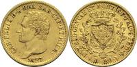 20 Lire 1827 Italien Sardinien Karl Felix ss-vz  420,00 EUR  zzgl. 6,90 EUR Versand