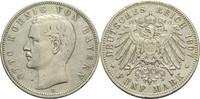 5 Mark 1907 D Bayern, Königreich Otto 1886-1913 Rf., ss+  30,00 EUR  +  14,90 EUR shipping