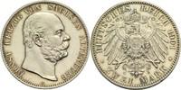 2 Mark 1901 A Sachsen-Altenburg Ernst 1853-1908 Winz. Kr., St aus PP  950,00 EUR  zzgl. 14,90 EUR Versand