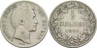 1/2 Gulden 1839 Bayern Ludwig I. 1825-1848 ss  25,00 EUR  +  14,90 EUR shipping