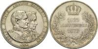 Vereinsdoppeltaler. 1872 B Sachsen Johann 1854-1873 vz-  300,00 EUR  zzgl. 6,90 EUR Versand