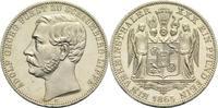 Vereinstaler 1865 B Schaumburg-Lippe Adolf Georg 1860-1893 min. Rf. und... 700,00 EUR  +  19,80 EUR shipping