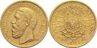 10 Mark 1873 G Baden, Großherzogtum Friedrich I. 1852-1907 ss+  265,00 EUR  +  14,90 EUR shipping