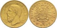 5 Mark 1877 G Baden, Großherzogtum Friedrich I. 1852-1907 Kl. Kr., ss  680,00 EUR  +  19,80 EUR shipping
