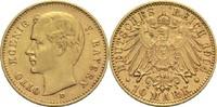 10 Mark 1904 D Bayern, Königreich Otto 1886-1913 Min Rf., ss+  280,00 EUR  +  14,90 EUR shipping