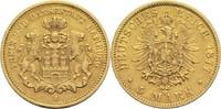 5 Mark 1877 J Hamburg Freie Hansestadt ss+  600,00 EUR  +  19,80 EUR shipping