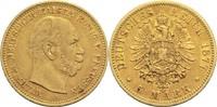 5 Mark 1877 A Preussen, Königreich Wilhelm I. 1861-1888 Min. Kr. und Rf... 340,00 EUR  zzgl. 6,90 EUR Versand