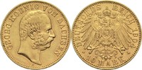 10 Mark 1904 E Sachsen, Königreich Georg 1902-1904 ss-vz  575,00 EUR  zzgl. 6,90 EUR Versand