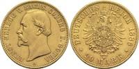 20 Mark 1886 A Sachsen-Coburg-Gotha, Herzogtum Ernst II. 1844-1893 min.... 4300,00 EUR  zzgl. 14,90 EUR Versand