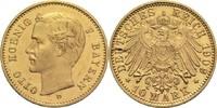 10 Mark 1909 D Bayern, Königreich Otto 1886-1913 Von polierten Stempeln... 295,00 EUR  zzgl. 6,90 EUR Versand