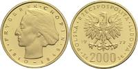 2000 Zloty 1977 Polen Volksrepublik  PP  355,00 EUR  zzgl. 6,90 EUR Versand