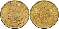 20 Zloty 1925 Polen  vz  450,00 EUR  +  14,90 EUR shipping