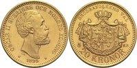 20 Kronen 1895 Schweden Oscar II. St-  500,00 EUR  +  14,90 EUR shipping