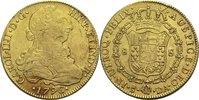 8 Esudos 1796 DA Chile Karl IV. ss  1180,00 EUR  zzgl. 14,90 EUR Versand