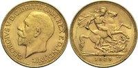 1 Pfund 1929 SA Südafrika Georg V. ss  300,00 EUR  zzgl. 6,90 EUR Versand