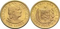 1 Libra 1964 Peru  vz-St  375,00 EUR  zzgl. 6,90 EUR Versand